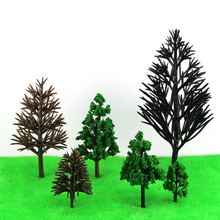 model making architecture each size ho, n ,g scale model train layout miniature plastic model tree arm 50pcs lot architecture mini plastic model 2 15cm color tree for ho train layout railway layout model building