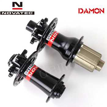 Taiwan Novatec D791SB D792SB Mountain Mtb Disc 11S XDR XD Bicycle Hub 24 28 32 Hole Quick Release Or Thru Axle 15*100mm 12*142mm - DISCOUNT ITEM  14 OFF Sports & Entertainment