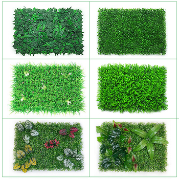 40x60cm Artificial Green Plant Lawn Carpet Family Garden Wall Beautification Plastic Store Background Decoration