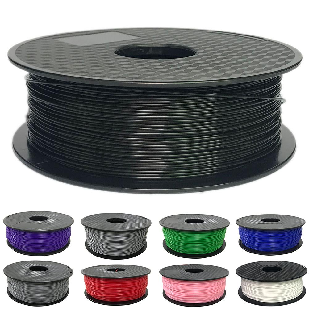 In Stock High Quality 3D Printer Filaments Consumables ABS Material Net Weight 1KG 1.75/3.0mm 100% Zero Bubbles