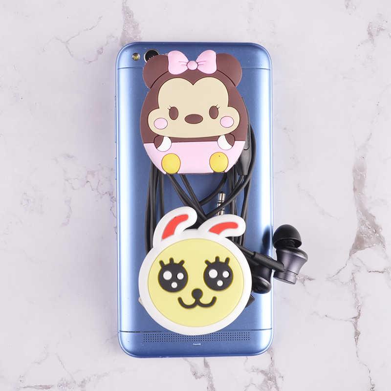 שקע טלפון נייד מחזיק למתוח סוגר קריקטורה אוויר תיק טלפון הרחבת טלפון Stand אצבע מכונית טלפון בעל iphone 7 בתוספת 8 X
