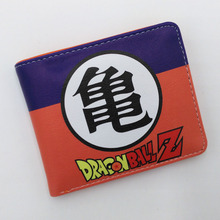 Anime Dargon Ball PU Short Wallet High Quality TV Series PU Short Purse