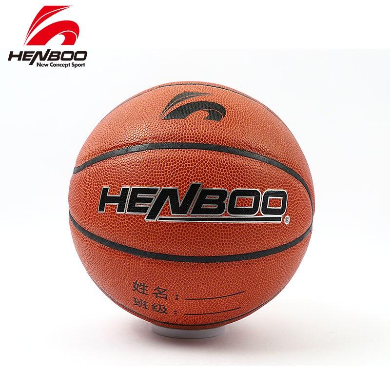 HENBOO Size 4 High Quality 8 Piece Basketball Official Use Standard PVC  Butyl Internal Bladder Outdoor Indoor  Inflatable Ball