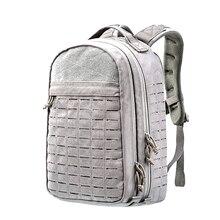 Outdoor Waterproof Tactical Backpack Universal Laptop Bag – Grey
