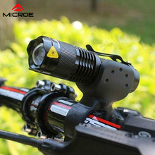 Bicycle Light Q5 Led Cycling Front Light Bike Lights Lamp Torch Waterproof Zoom Bike Flashlight 7W 3000LM 3 Mode стоимость