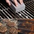 Практичная гриля  8 упаковок  чистящий кирпич  блок  волшебный камень  пемза  гриля  аксессуары для гриля для барбекю  стойки