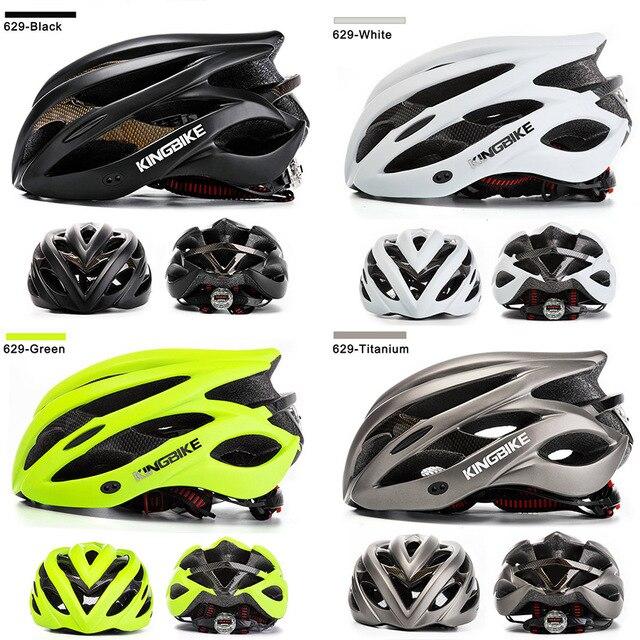 Kingbike 2019 novo design preto capacetes de bicicleta mtb mountain road ciclismo capacete da bicicleta casco ciclismo tamanho L-XL 2