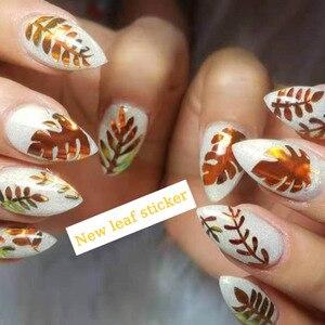 Image 5 - Pegatina de flama holográfica para decoración artística de uñas, cinta adhesiva, láser delgada, raya plateada, lámina adhesiva, decoración artística de uñas