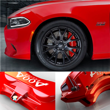 4 Pcs Easy To Install Aluminum Brake Disc Bremb Caliper Cover For Dodge Charger Challenge