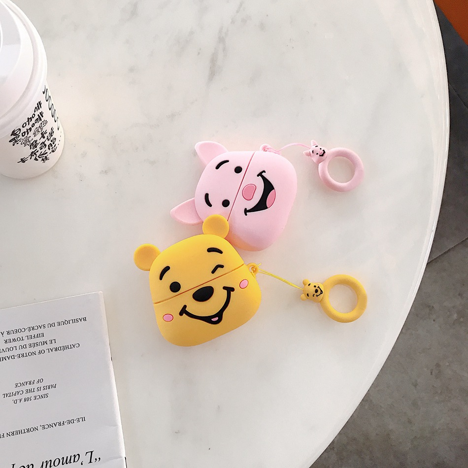 Cute 3D Silicone Case for Airpods Pro 126