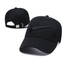 Nike Unisex Embroidery Beach Sports Golf Cap Diverse Baseball Solid Color Travel Hat UV Protection Caps Men And Women(China)