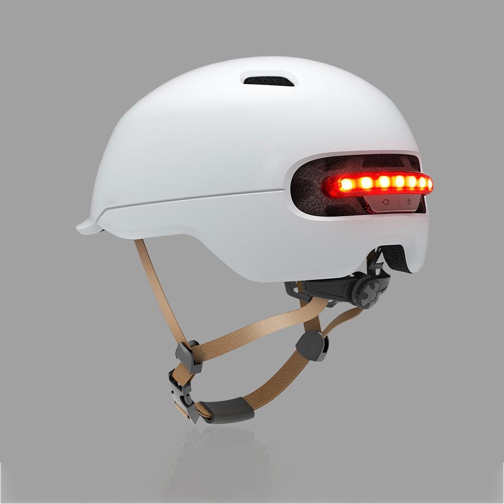 Xiaomi Smart Cycling Bike Bicycle Ultralight Light Helmet For Brompton Bike Back Automatic LED Smart Flash Light Helmet