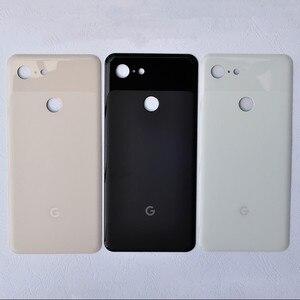 Image 4 - Задняя крышка Pixel3 XL для Google Pixel 3 XL, 6,3 дюймов, оригинальный корпус, задняя крышка, ремонт, замена, чехол для аккумулятора