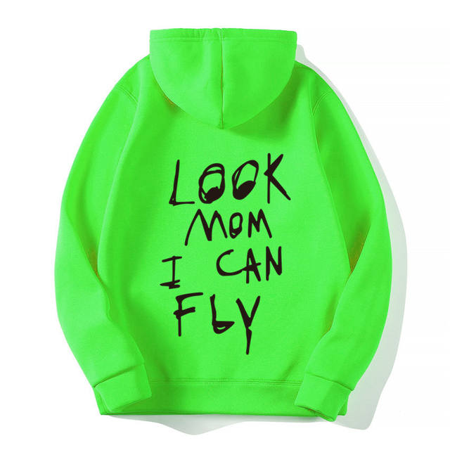 ASTROWORLD LOOK MOM I CAN FLY HOODIE (12 VARIAN)