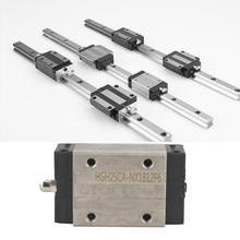 цена на 1Pcs HGH25CA Mini Linear Motion Guide Rail Slider Bearing Steel Sliding Block