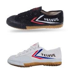Обувь Feiyue черного и белого цвета; обувь для боевых искусств; обувь для кунг-фу; парусиновая обувь на плоской подошве для мужчин и женщин; дышащие кроссовки для тхэквондо; tenis masculino