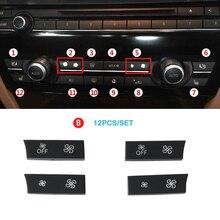 Консоли AC Нагреватель климат вентиляция объем Управление кнопка для BMW 5 GT 6 7 серия F10 F11 F01 F02 F06 520 523 525 530 730 740