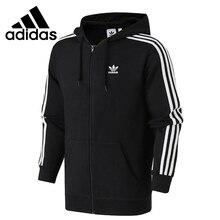 Original New Arrival Adidas Originals 3-STRIPES FZ Men's jacket Hooded Sportswea