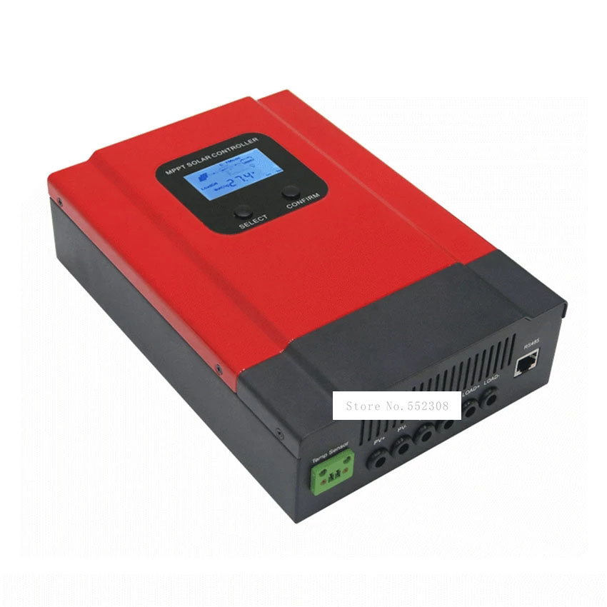 controlador solar esperto dc12v 24v 36v 48v do sistema da geracao de energia do controlador da