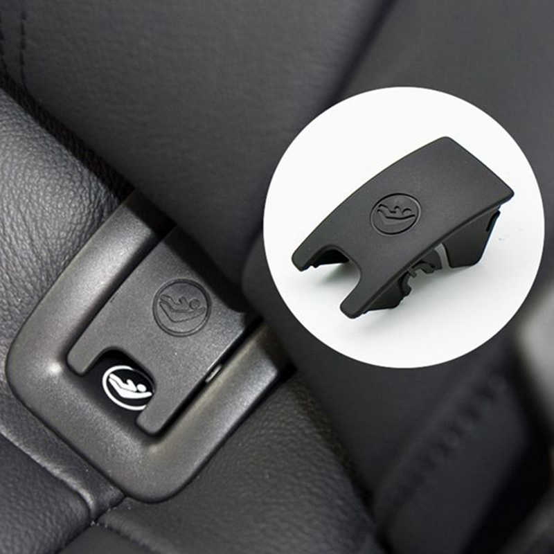 Car Rear Child Seat Anchor Isofix Slot Trim Cover Button for A6 2013-2018 Car ISOFiX Cover Child Restraint