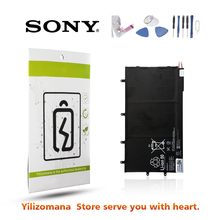 SONY Original LIS3096ERPC Battery 6000mAh For Xperia Tablet Z 1ICP3/65/100-3 Replacement Batteria + Free Tools