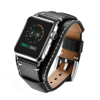 Strap for iwatch i watch Leather pulsera correa for Apple Watch band 38mm 40mm 42mm 44 mm armband Series 1/2/3/4/5 pulseira belt