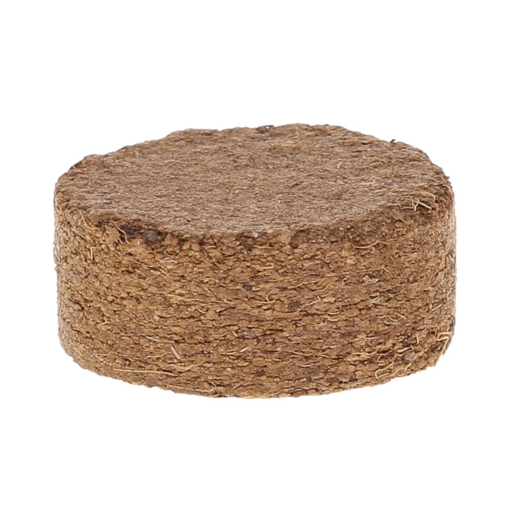 Coconut Fiber Coir Pellet Nutrient Soil Lightweight Compressed Base Garden