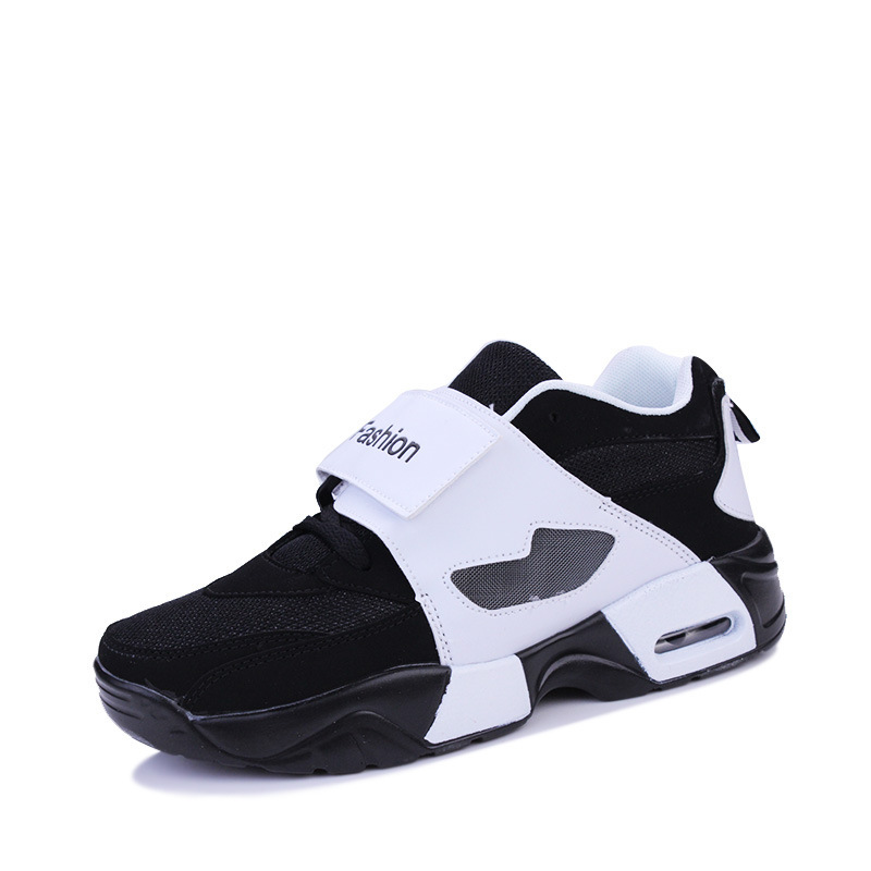 2019 Motion Run Male Mens Shoes Casual Student Leisure Time Black And White Spelling Zapatos De Hombre Sneakers Men Scarpe in Men 39 s Casual Shoes from Shoes