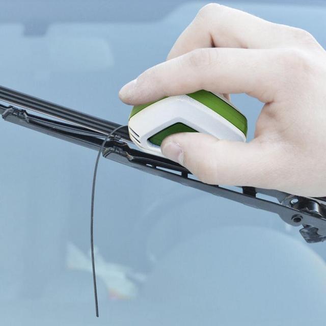 High Quality-Windscreen Repair Cutting Individual Wiper Blades Wiperblade Cutter Windshield Rubber Regroove Tool For Skoda Fort