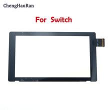 Wymiana ChengHaoRan oryginalny nowy ekran dotykowy na przełącznik do nintendo konsola NS ekran dotykowy NS host dotykowy LCD