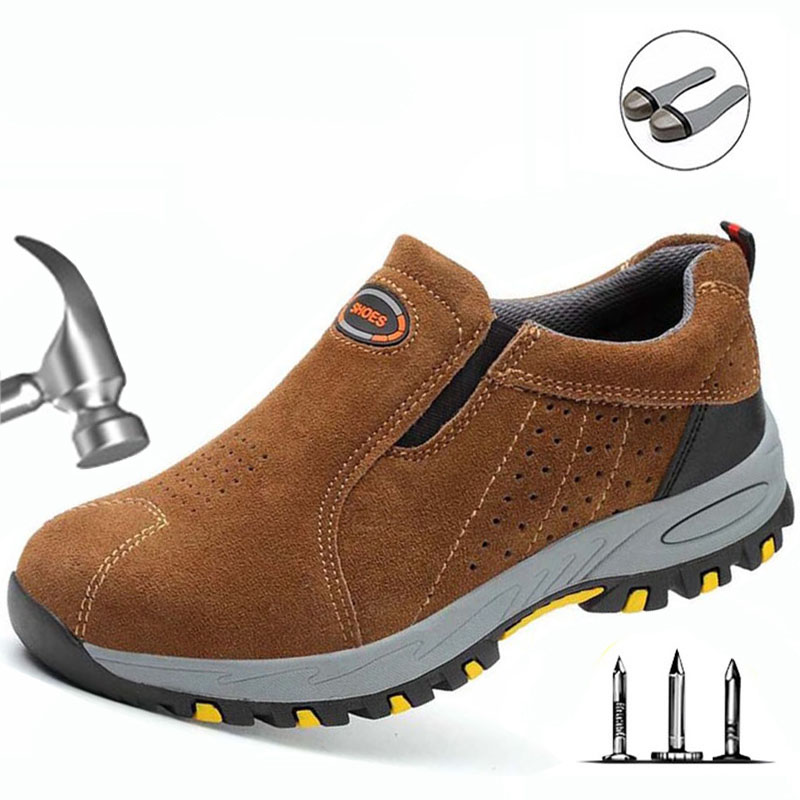 Safety Shoes Steel Toe Cap Camo Spring