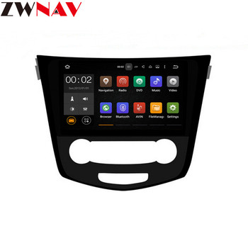 10.2 Android 8.0 Car GPS Radio for Nissan X-Trail Qashqai J10 J11 2014 2015 2016 2017 BT Stereo Multimedia Navigation head unit image