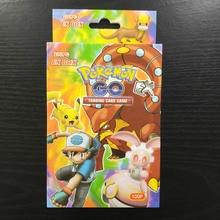 Такара Томи Покемон карты Битва сияющей карта настольная игра 100шт Флэш-коллекций детские игрушки подарки 80 экс 20 мега