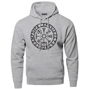 Hoodies Men Odin Vikings Sweatshirts Son Of Odin Hooded Sweatshirt Sons Of VikingNew Winter Autumn Gone to Valhalla Sportswear 1