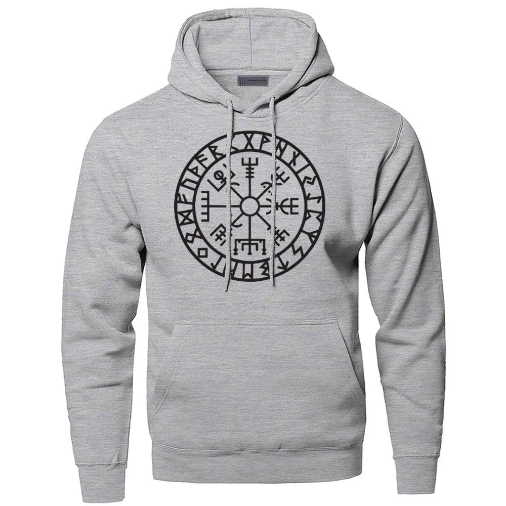 Hoodies Men Odin Vikings Sweatshirts Son Of Odin Hooded Sweatshirt Sons Of VikingNew Winter Autumn Gone To Valhalla Sportswear
