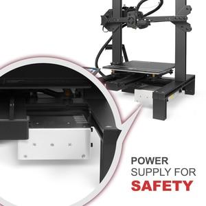 Image 4 - Imprimante 3D LONGER LK4 avec écran tactile reprenant limpression détecteur de Filament nouvelle conception de cadre Kit dimprimante 3D Open Source 3d printer stampante 3d 3d printer kit