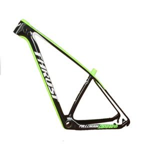 Image 3 - Stuwkracht Carbon Frame Mountainbike 29er 27.5 Red Carbon Mtb Frame Rood T1000 Fietsframe 15 17 19 Bsa BB30 systeem 2 Garantie