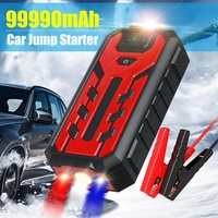 99900 mAh Auto Starthilfe Power pack Tragbare Auto Batterie Booster Ladegerät 12V Ausgangs Gerät Diesel Auto Starter Power bank