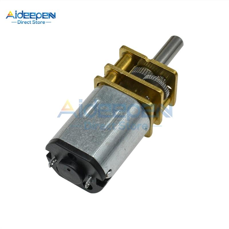1024GA20 DC6V//12V N20 Gear Motor Getriebemotor M4x55mm Gewinde-Spindel G4T6