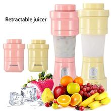 цена на Mini Electric Fruit Juicer USB Rechargeable Smoothie Maker Blender Machine Travel Portable Juicer Sports Bottle Juicing Cup