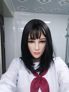 Image 2 - (Rose)Quality Handmade Soft Material Half Face Female crossdress Cosplay DMS Mask Cossdresser Doll 2018 Limited Version