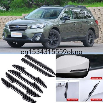 For Subaru IMPREZA BRZ LEGACY Outback Tribeca WRX XV Car Side Door Edge Mirror Guard Bumper Trim Protector Stickers 6Pcs image