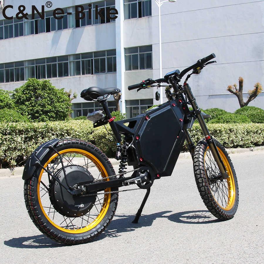 2019 Hot selling 72v 8000w Enduro Ebike Electric Bicycle Bike Electric Mountain Bike