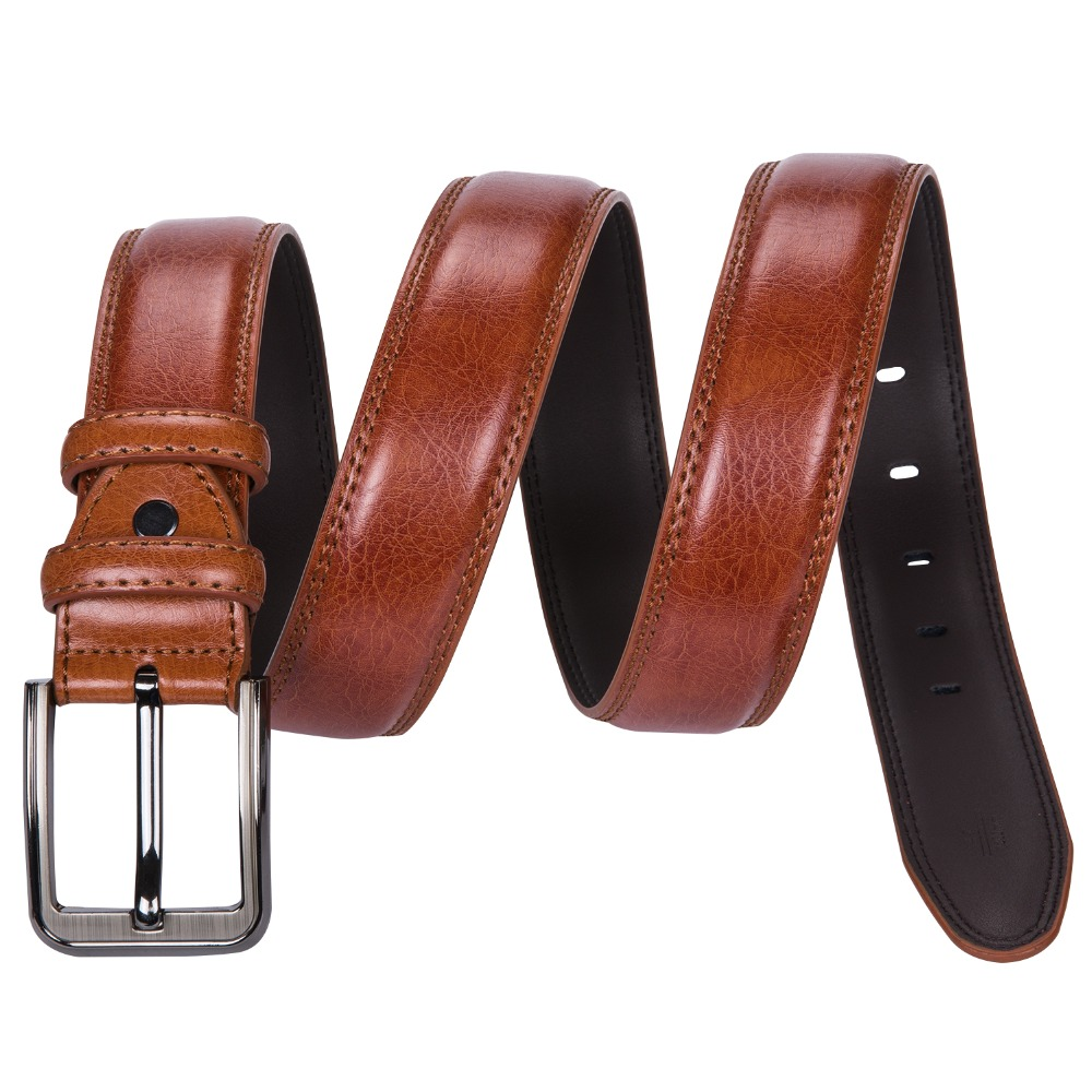 Genuine Leather Pin Buckle