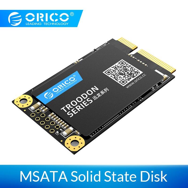 ORICO SSD mSATA SSD disque à semi-conducteurs 128GB 256GB 512GB 1 to MSATA disque dur à semi-conducteurs interne pour ordinateur portable de bureau