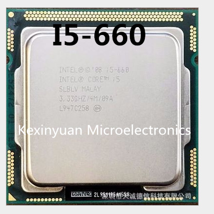 Intel Core I5-660 I5 660 Processor (4M Cache, 3.33 GHz) LGA1156 Desktop CPU