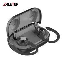 TWS מיני אוזניות 5.0 אוזניות אלחוטי Bluetooth אוזניות עם מיקרופון 3D סטריאו ספורט אוזניות לxiaomi כל טלפונים