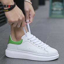2020 Men Casual Shoes  Sneakers PU Breathable  Height Increasing  Lace-Up  zapatos de hombre mens loafers mens trainers