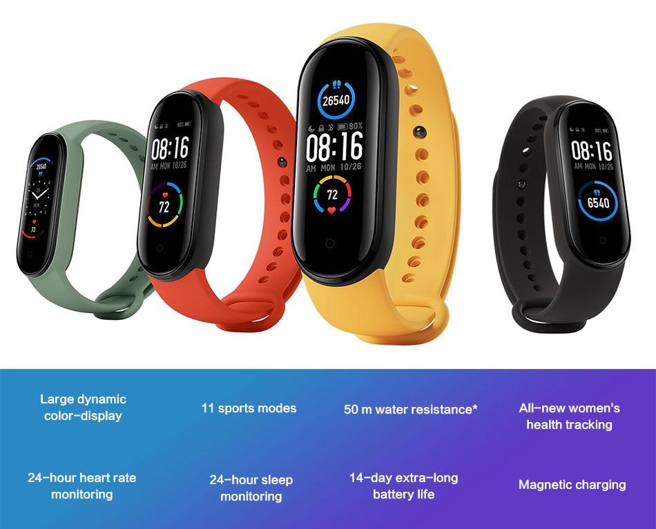 Smartwatch Xiaomi Band 5