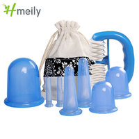 8 Teile/satz Vakuum Anti-Cellulite Saug Saug Schröpfen Gesunde Pflege Massager Therapie Manuelle roller zu entspannen die körper